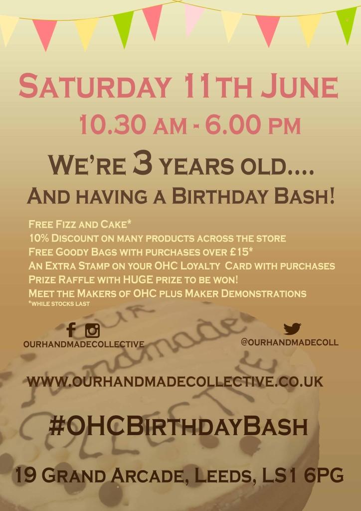 3rd birthday bash online